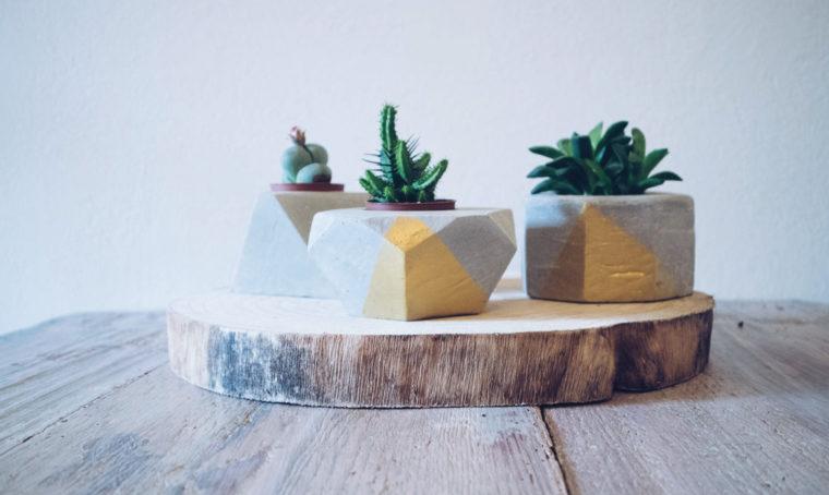 Come creare un porta vaso in cemento