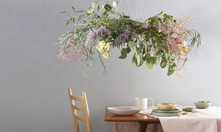 Come creare un chandelier in fiore