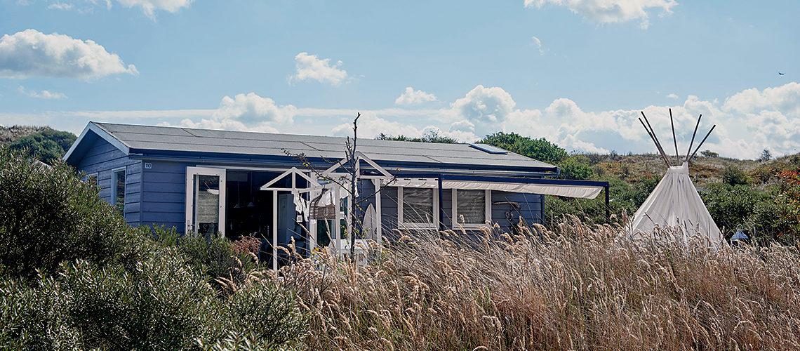 Progetti décor e fai-da-te nella piccola casa rifugio sulle coste olandesi