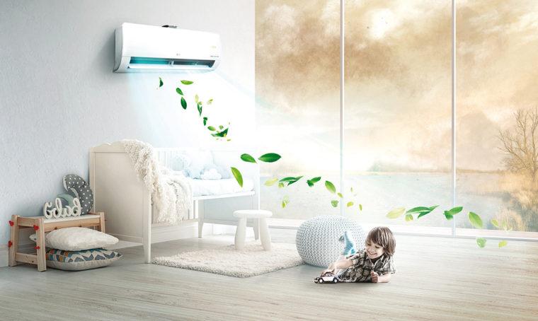 Purifica l'aria da polvere e particelle inquinanti