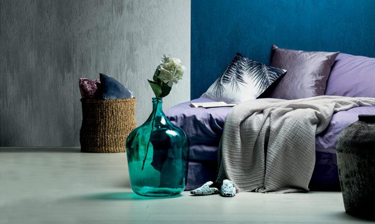 Dona luce alle pareti con le pitture effetto seta