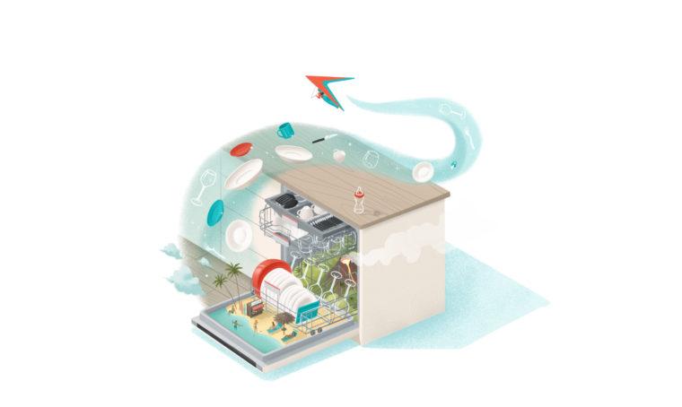 Zeolite: lava e asciuga perfettamente con le lavastoviglie Bosch
