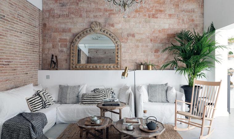 Lo stile rustico si è fatto romantico nell'ex fattoria a Barcellona
