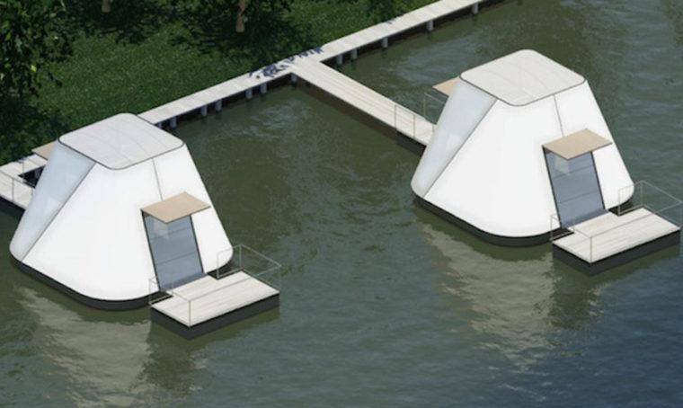 Vivere galleggiando sull'acqua