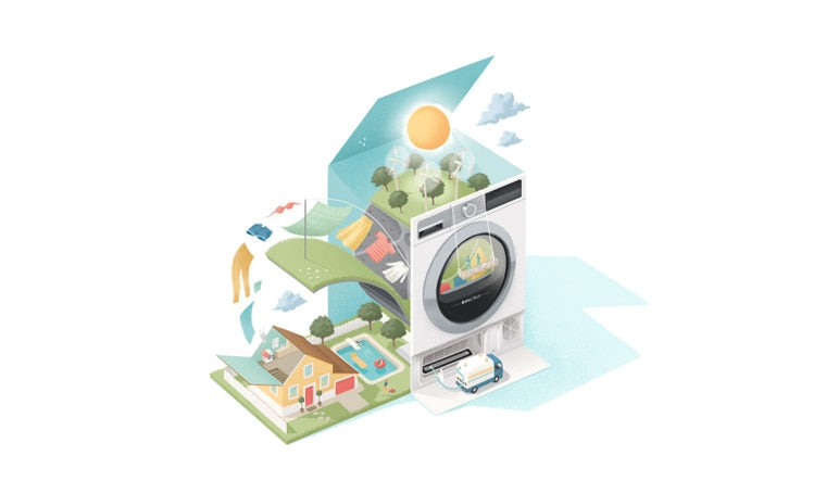 AutoClean di Bosch: l'asciugatrice che non ti aspetti