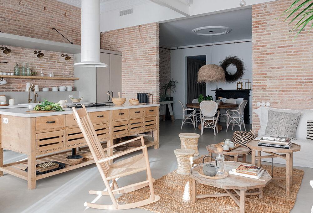 Come arredare il soggiorno in stile neo-shabby