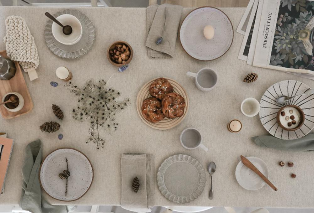 Voglia di natura sulla tavola d'autunno
