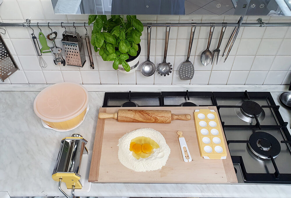Cucina: un piano di lavoro… a sorpresa