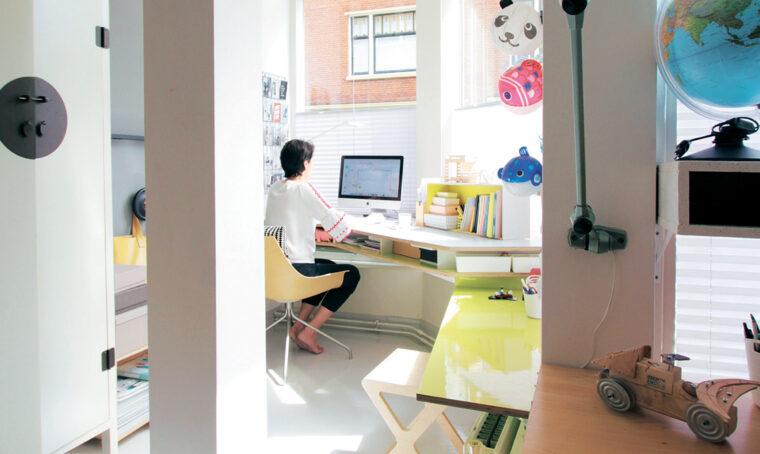 Come creare l'angolo studio in stile nordico