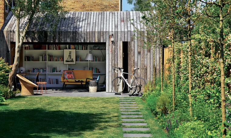 La tipica villetta londinese diventa una casa a misura di famiglia