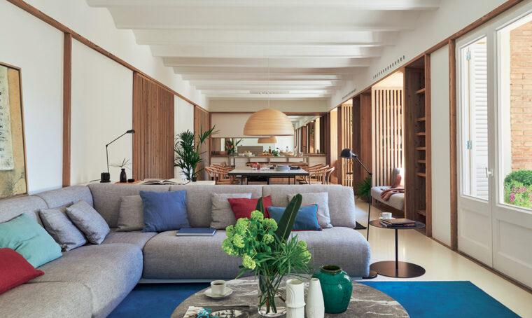 Stile contemporaneo: gli elementi base per arredare il soggiorno