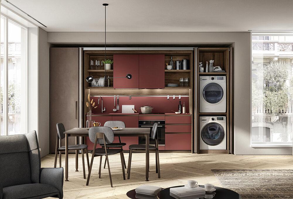 Cucina: una stanza trasformista da vivere tutto il giorno