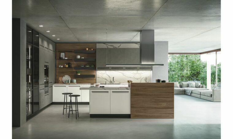 Cucina: spazio extra per il co-living