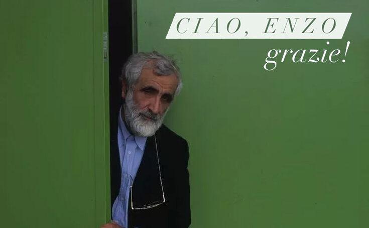 Addio a Enzo Mari, maestro del design italiano