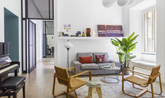 Un appartamento a Roma e un desiderio: trasformare il giardino in un living all'aperto