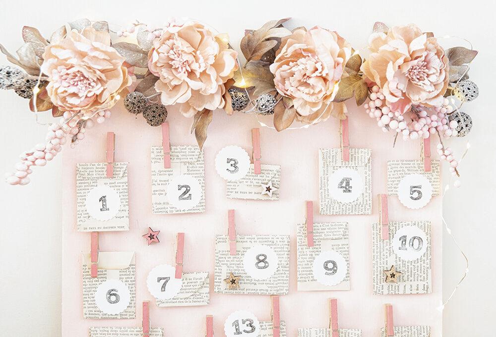 Natale: realizza il calendario dell'Avvento nei colori pastello