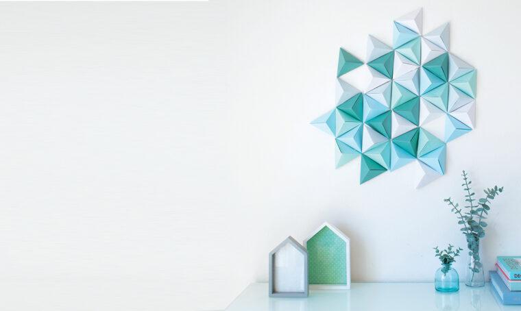 Come realizzare uno sfondo in carta 3D
