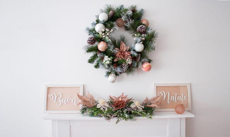 Natale: realizza un finto caminetto di legno per creare la giusta atmosfera