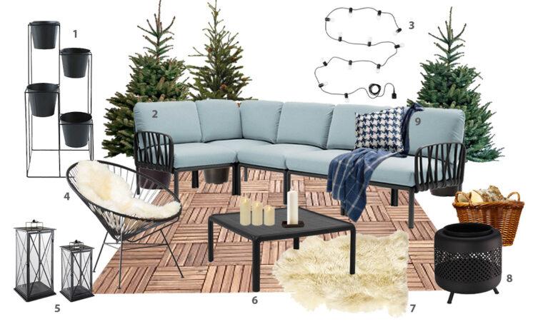 Sei consigli per sfruttare il terrazzo in inverno