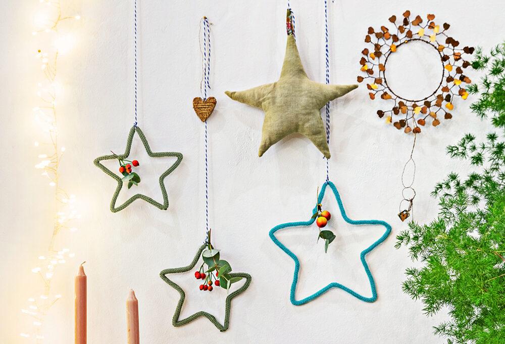 Natale: come realizzare la stella di maglia