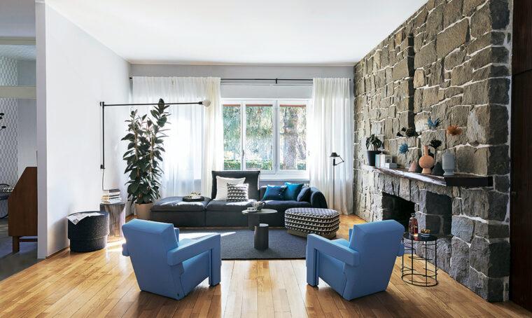 Vivere in una villa modernista e arredarla tra storia ed esigenze di oggi