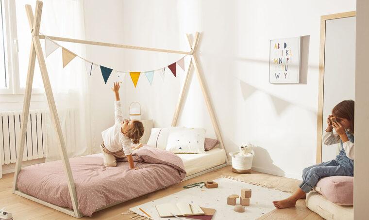 Kave Home lancia la linea di arredi per bambini ispirata al metodo Montessori