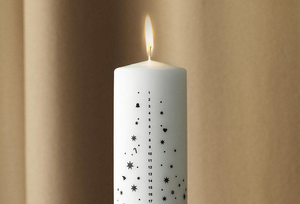 Aspetta il Natale con le candele dell'Avvento
