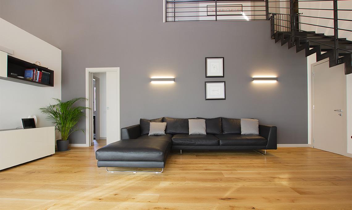 soggiorno doppia altezza
