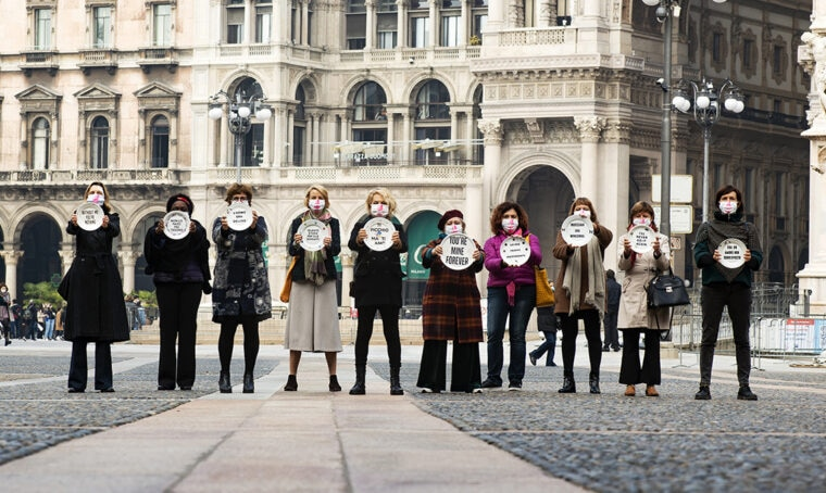 Il luogo più pericoloso: il progetto d'arte contro la violenza sulle donne