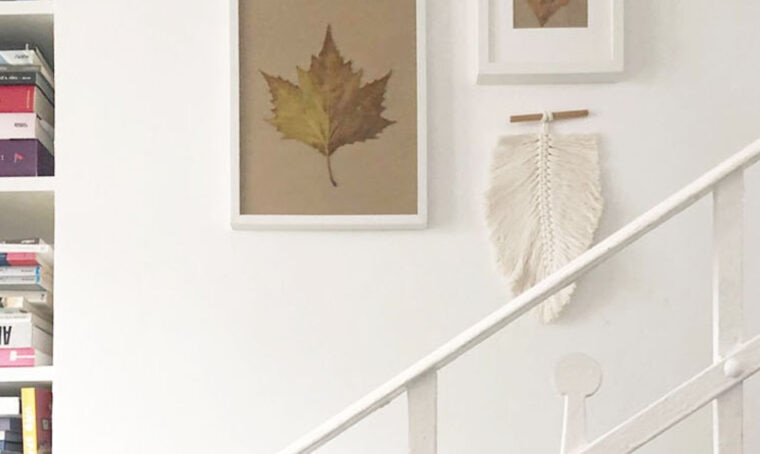 Wall gallery a tema autunnale