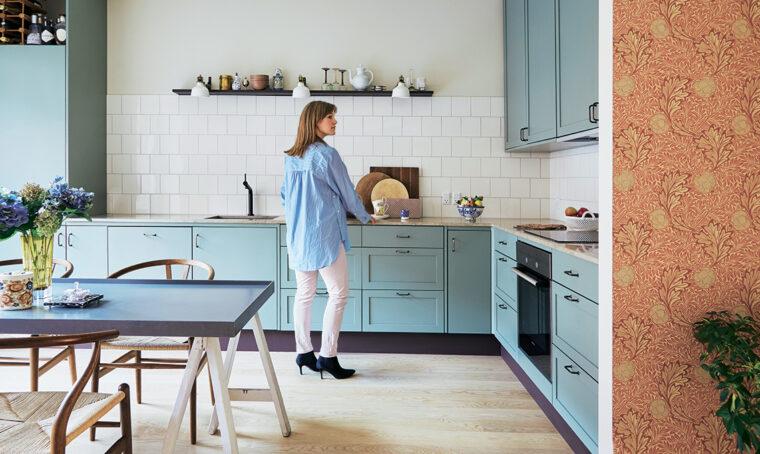 Restyling 'a rovescio': da casa moderna a rétro