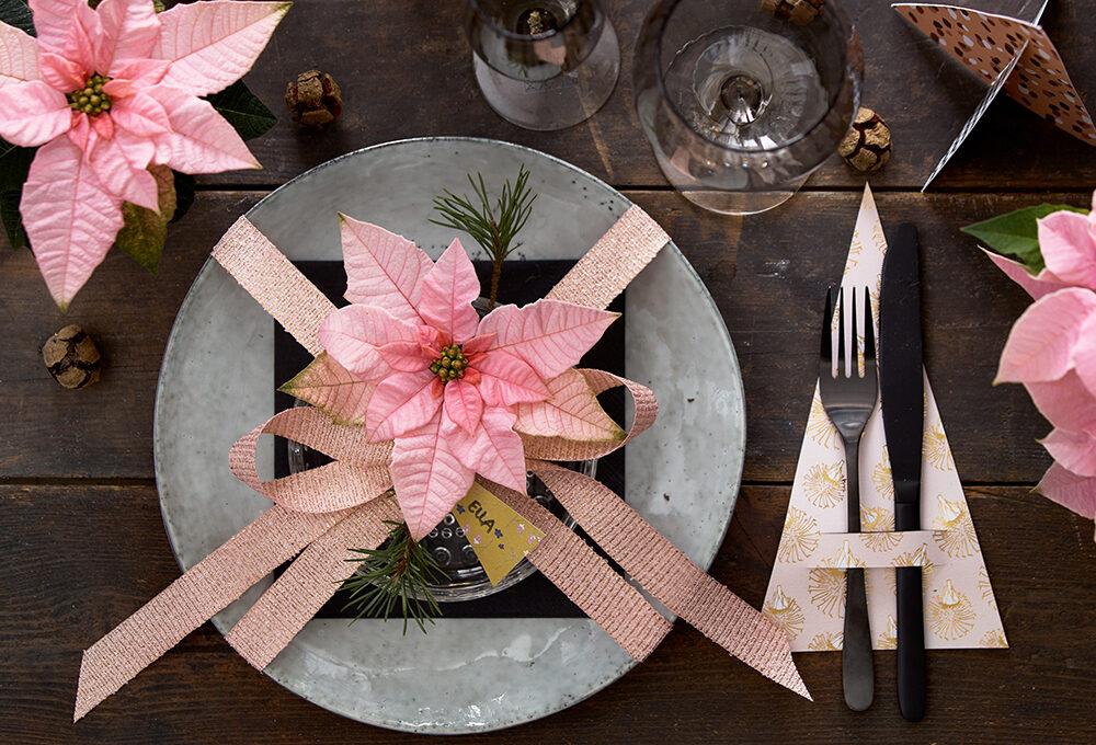Crea alberelli decorativi per la tavola di Natale