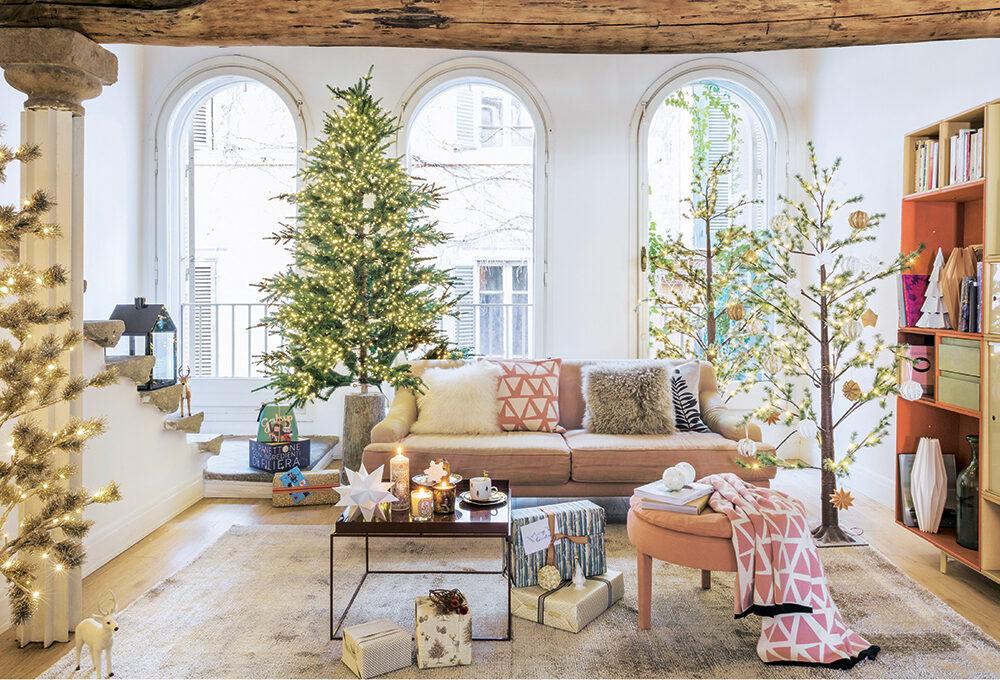 L'intramontabile magia dell'albero nel palazzetto romano del '500