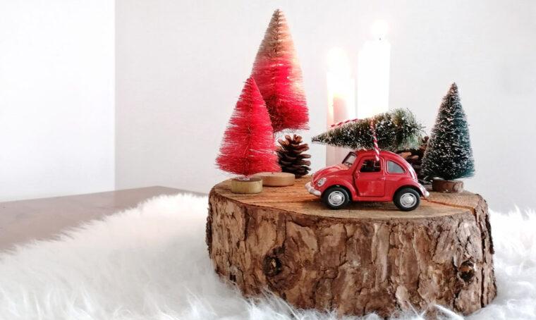 Natale: crea un centrotavola fai-da-te originale e colorato