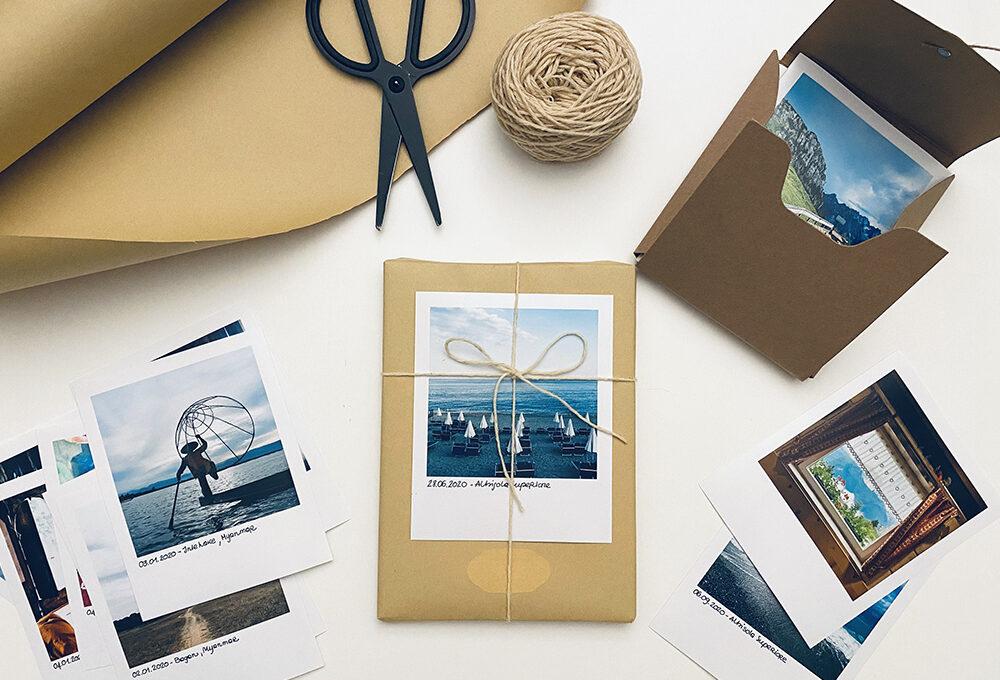 Natale: decora i pacchetti con le tue fotografie preferite