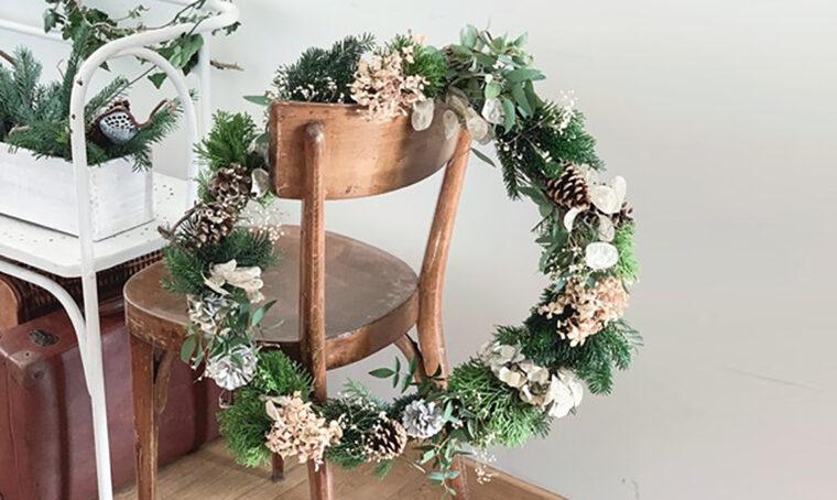 Come realizzare la ghirlanda natalizia