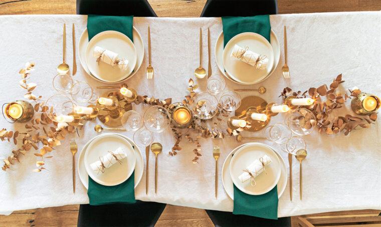 Un cuore d'oro per la tavola delle Feste