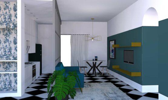 La vetrata per suddividere gli spazi