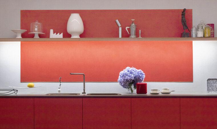 In cucina come in un dipinto di Mark Rothko