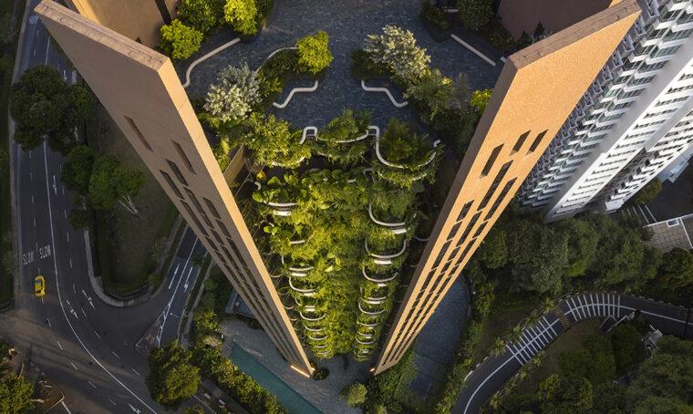 Un grattacielo 'verde' nel cuore di Singapore