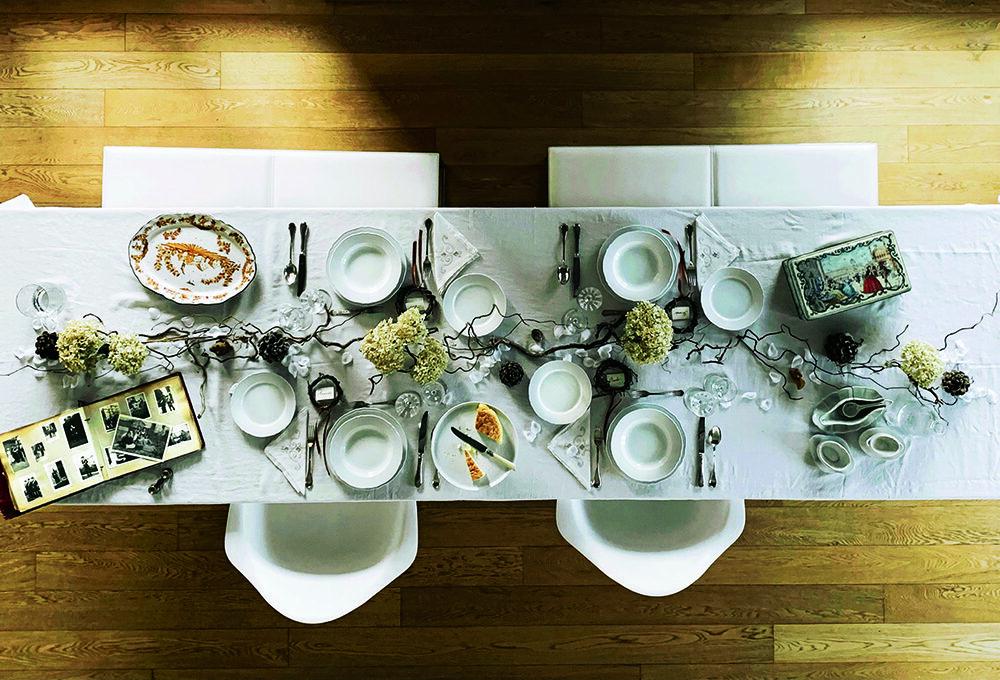 Ispirazione bosco per una tavola natural-chic