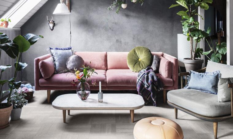 Arredare il soggiorno in stile cocoon
