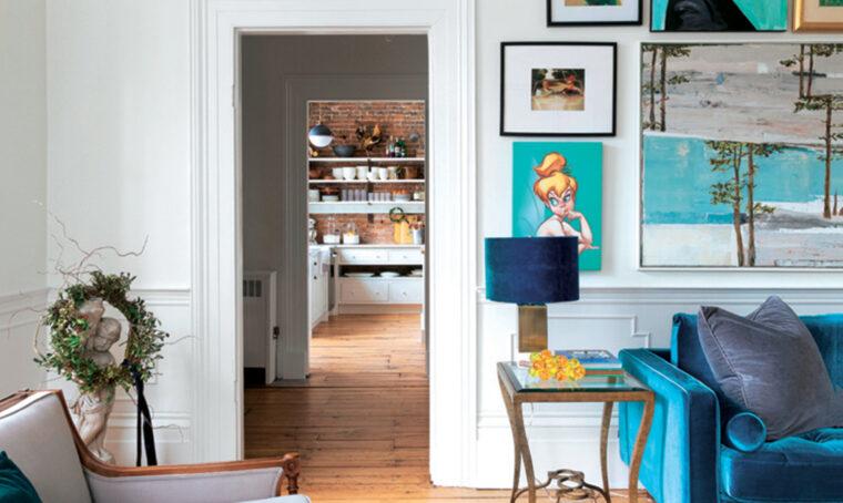 Arredare il salotto in stile new classic