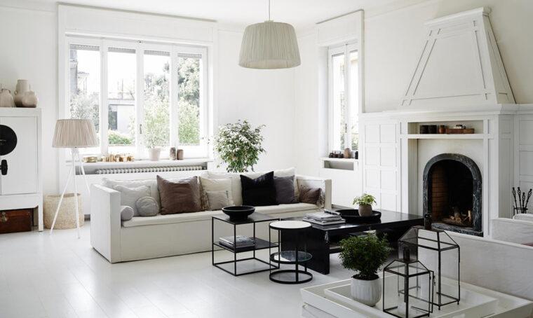 Arredare il soggiorno in stile nordico