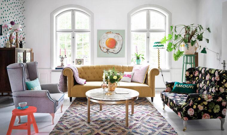 Charlotte Gueniau: una casa dallo stile unico e che si trasforma di continuo