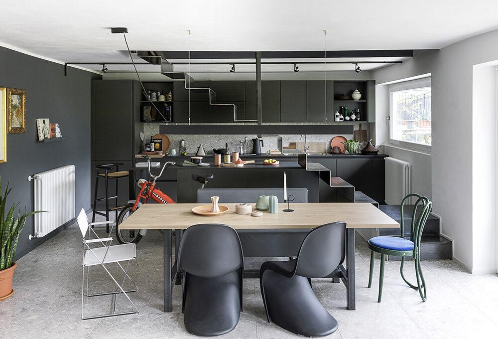 Uso calibrato del colore nella casa dell'interior designer