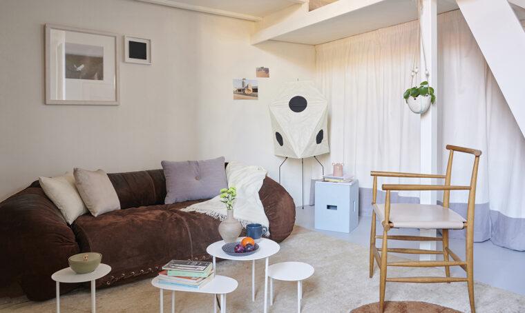 Comfort in pochi metri quadri nella tipica casa di ringhiera milanese