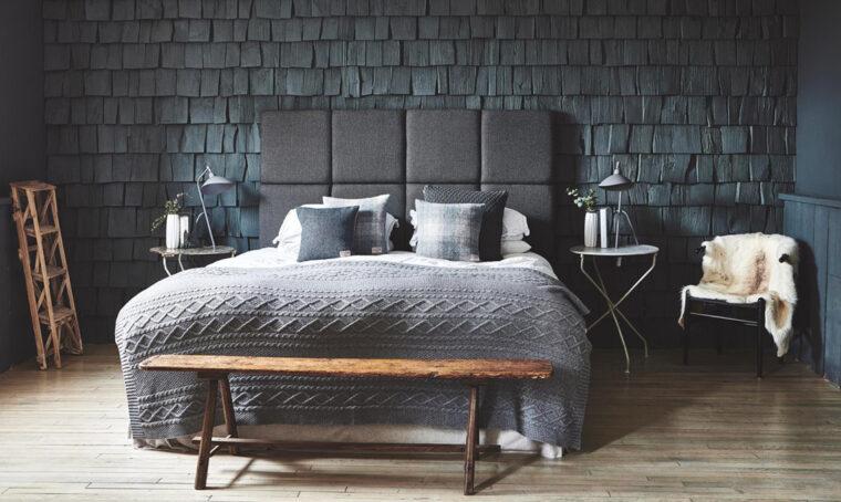 Rivesti la parete con le scandole nordic style