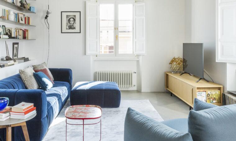 Creare un soggiorno in stile moderno