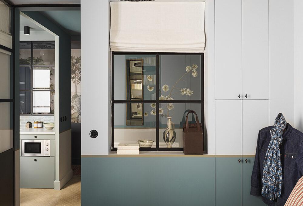 Colore e stile per tre stanze in 25 metri quadri
